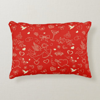 Valentine Pattern 2 Accent Pillow