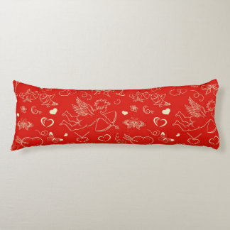 Valentine Pattern 2 Body Pillow