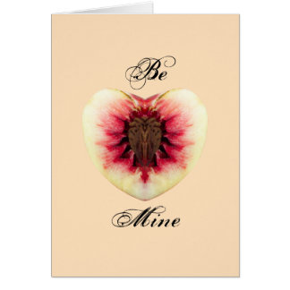 Valentine Peach Card