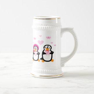 Valentine Penguins Mug