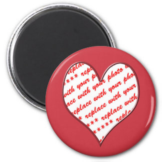 Valentine Photo Frame Refrigerator Magnet