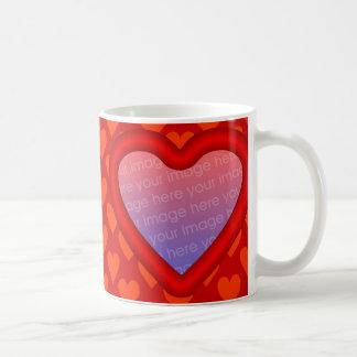 Valentine Photo Template Mug