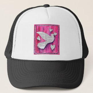 valentine  pigeon trucker hat