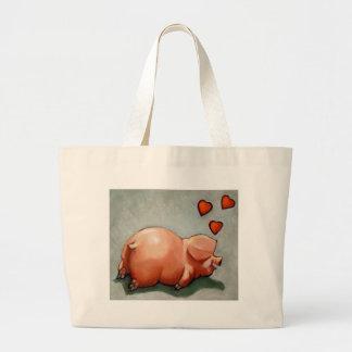 VALENTINE PIGGY: ARTWORK: HEARTS BAG