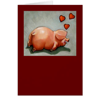 VALENTINE PIGGY: ARTWORK: HEARTS GREETING CARDS