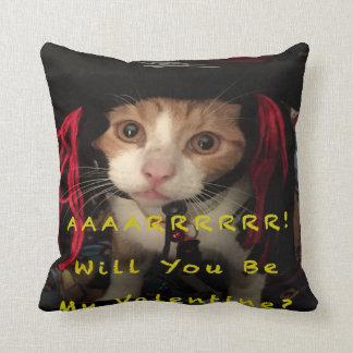Valentine Pillow - AARR Will you be my valentine