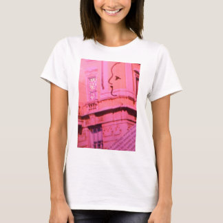 Valentine Pink Red Paris With Floating Girl Dream T-Shirt