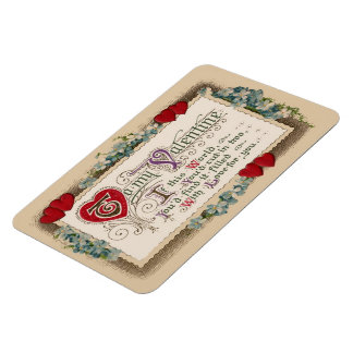 Valentine Poem Rectangular Magnets