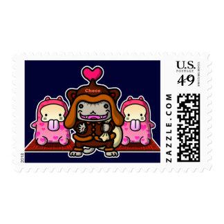 Valentine Postage Stamps
