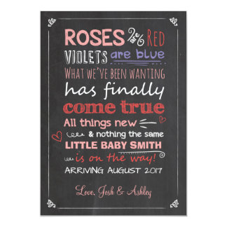 valentine pregnancy announcement card expecting