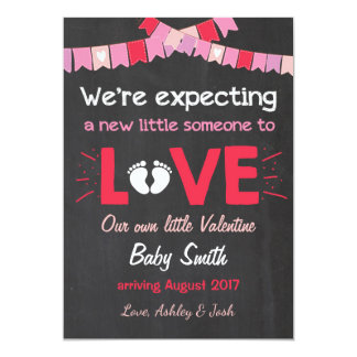 Valentine Pregnancy Announcement Reveal Love