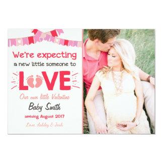 Valentine Pregnancy Announcement Reveal Love Creme