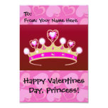 Valentine Princess Personalized Invitations