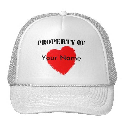 Valentine Property Of Hats