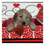 VALENTINE PUPPY - I WUF YOU! (I LOVE YOU) POSTER