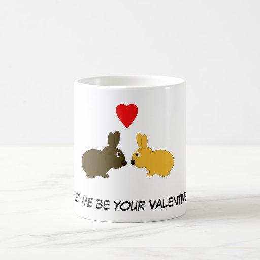 Valentine Rabbits Mug