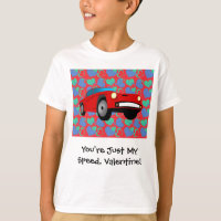 Valentine Race Car T-Shirt