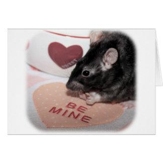 Valentine Rattie Card