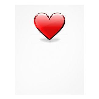 Valentine Red Heart Flyer