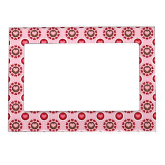 Valentine Red Heart Pattern Magnetic Photo Frame