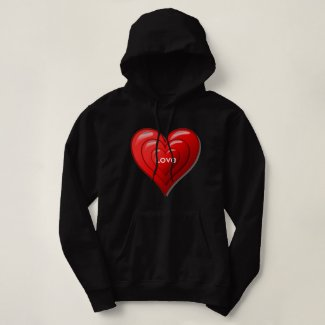 Valentine Red Heart Sweatshirt
