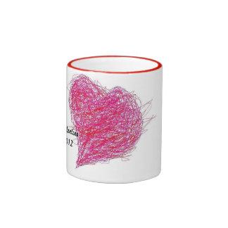 Valentine Ringer Coffee Mug