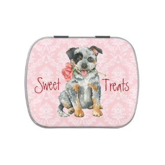 Valentine Rose ACD Jelly Belly Candy Tins