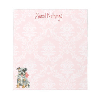 Valentine Rose ACD Notepad