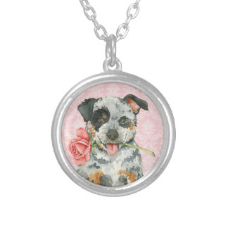 Valentine Rose ACD Silver Plated Necklace