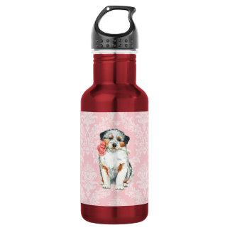 Valentine Rose Aussie Stainless Steel Water Bottle