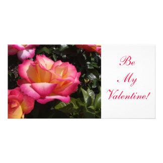 Valentine Rose Card
