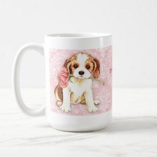 Valentine Rose Cavalier Coffee Mug