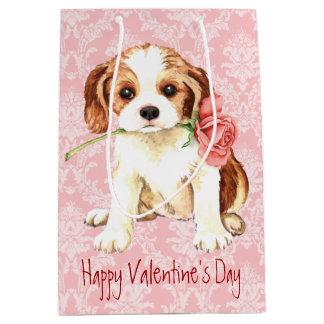 Valentine Rose Cavalier Medium Gift Bag