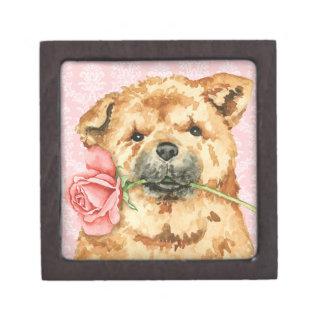 Valentine Rose Chow Gift Box