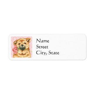 Valentine Rose Chow Label