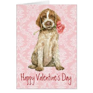 Valentine Rose Griffon Card