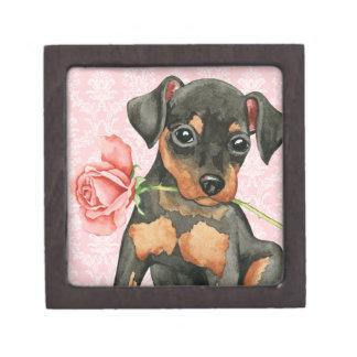 Valentine Rose Min Pin Gift Box