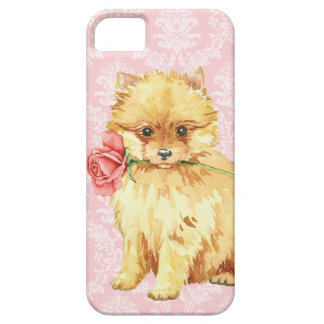 Valentine Rose Pomeranian iPhone 5 Cover