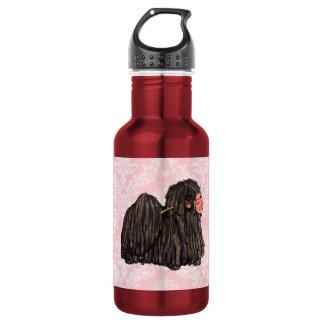 Valentine Rose Puli Water Bottle