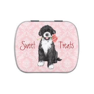 Valentine Rose PWD Jelly Belly Candy Tin