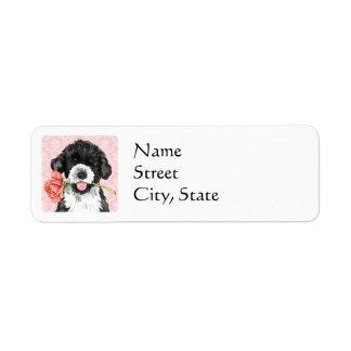 Valentine Rose PWD Return Address Label