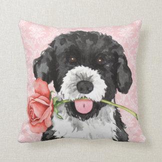 Valentine Rose PWD Throw Pillow