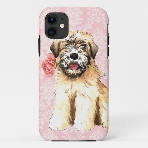 Valentine Rose Wheaten Phone Case