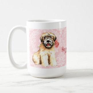 Valentine Rose Wheaten Coffee Mug