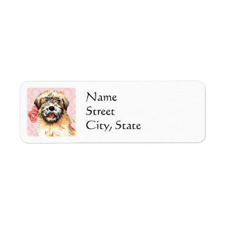 Valentine Rose Wheaten Label