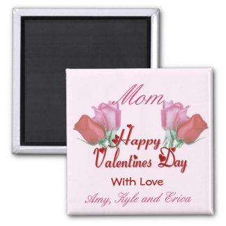 Valentine Roses - Mom Magnet