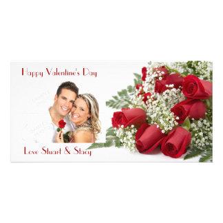 Valentine Roses Photo Card