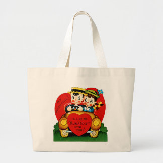 Valentine Runabout Large Tote Bag