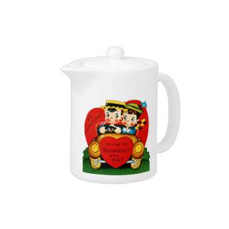 Valentine Runabout Teapot