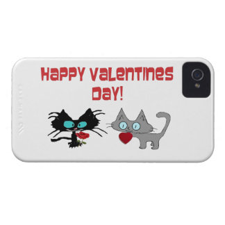 Valentine s Day Cats Case-Mate iPhone 4 Cases